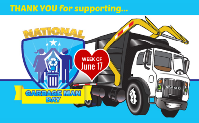 Waste and Recycling Workers Week - Thank You
