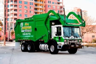 SWS Front Load Garbage Truck
