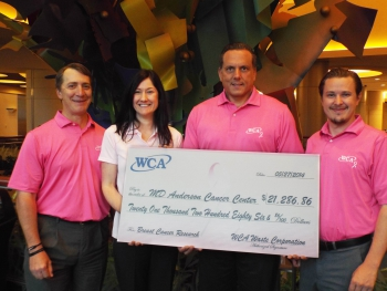 WCA - Pink Shirt Fridays - Breast Cancer Awareness - Waste and Recycling Workers Week