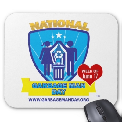Mousepad - Waste and Recycling Workers Week Merchandise