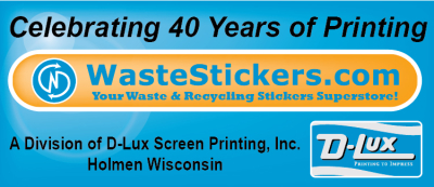 WasteStickers.com - Waste and Recycling Workers Week Sponsor
