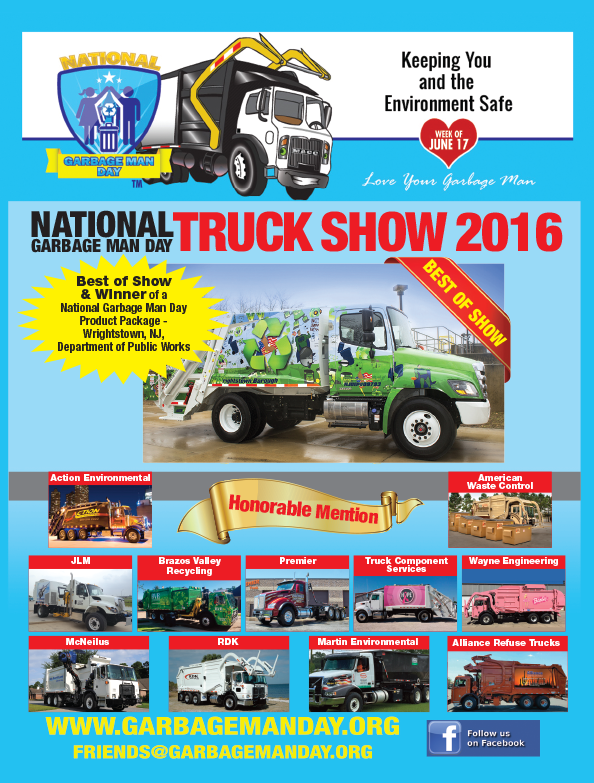 Truck Show Winners   Hauler Magazine   Waste and Recycling Workers Week 2016