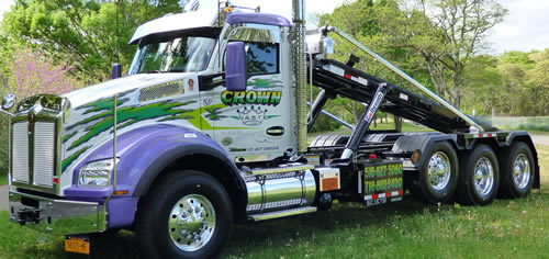 Crown Waste Corp Trucks | Waste and Recycling Workers Week Sponsor
