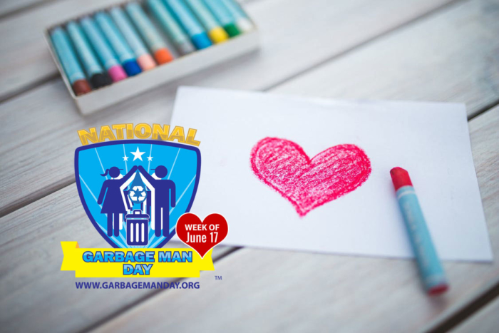 Color Some Love for Your Garbage Men and Women with the Waste and Recycling Workers Week Coloring Book - Waste and Recycling Workers Week 2018