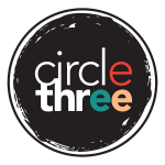 circle three branding logo